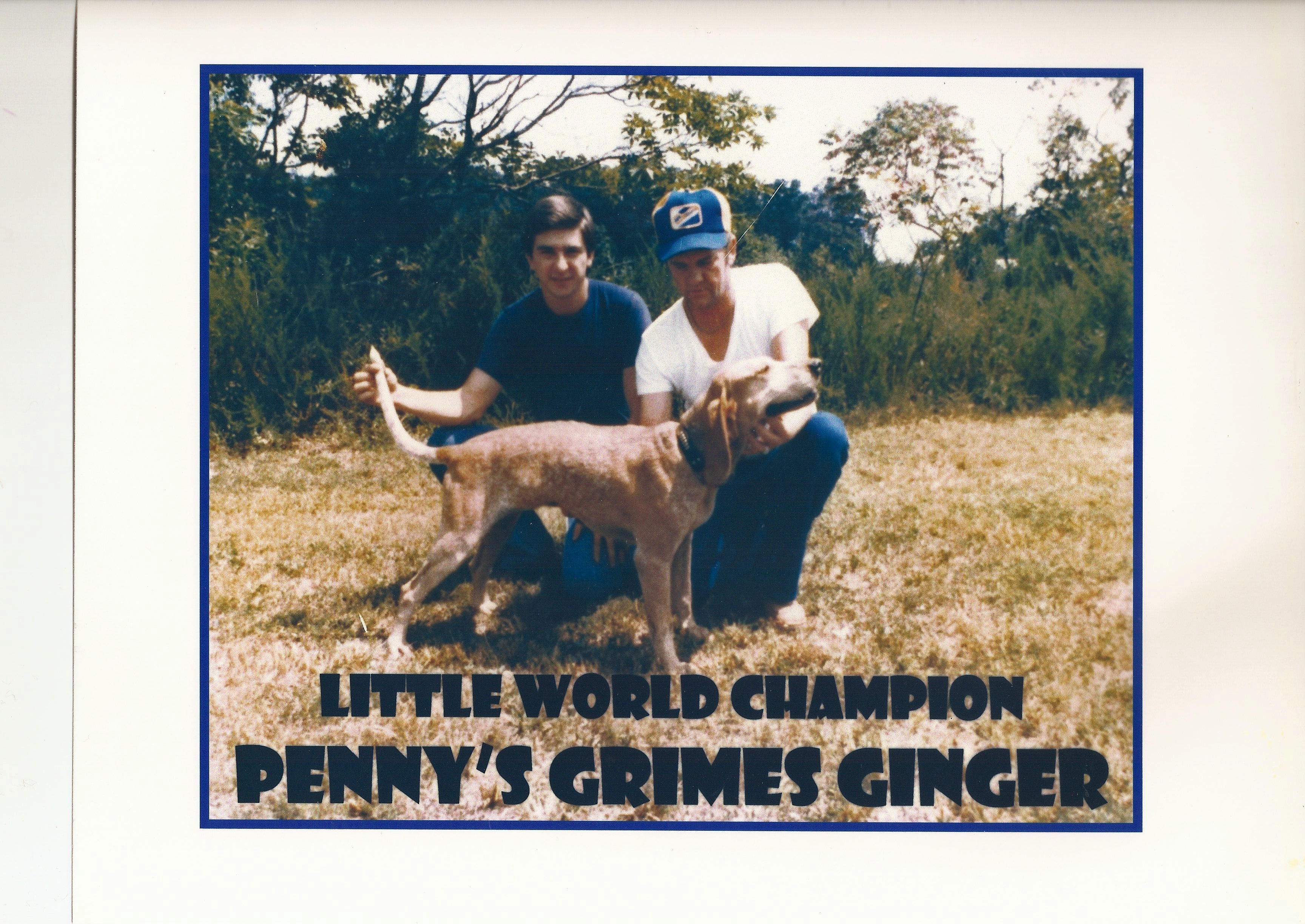 Penny's English Coonhounds - THREE DECADES OF WORLD